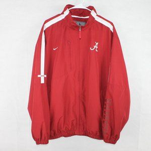 NWOT Nike Alabama Crimson Tide Windbreaker Large